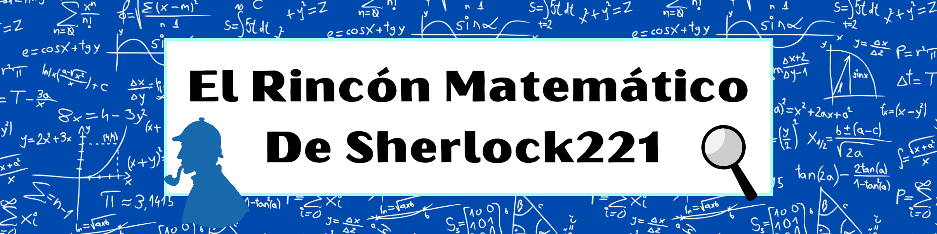 Un blog matemáticamente educativo, elemental querido Watson
